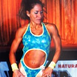 Monica Gray in fitness competition