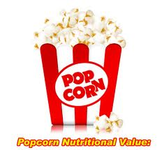 Pop corn nutrition