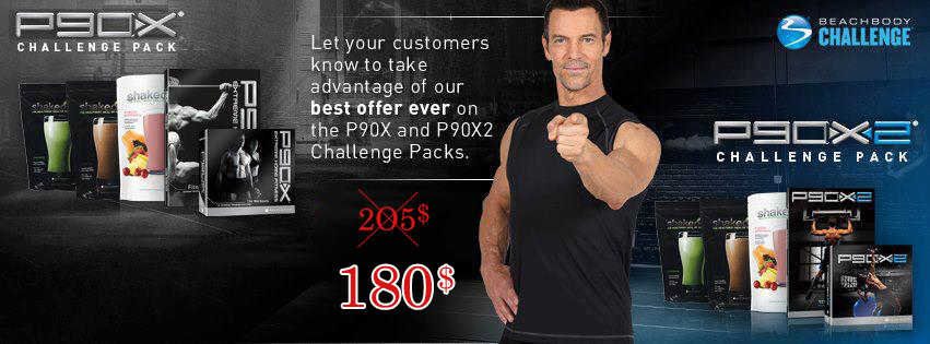 P90x and P90x2 Challenge Pack