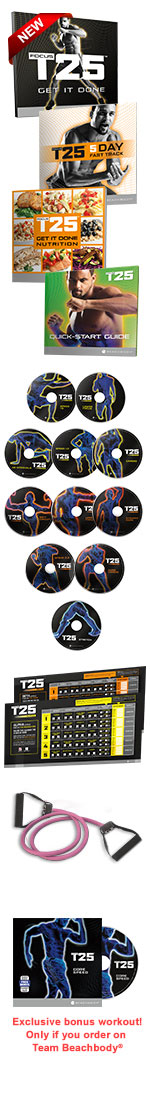 T25 DVD Package