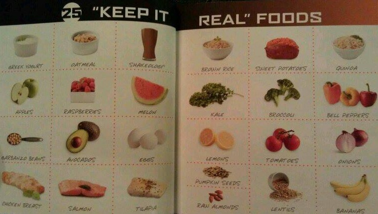 25 real foods