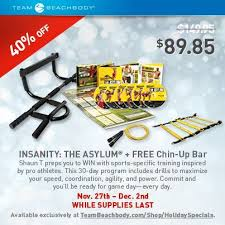 Insanity the Asylum Cyber Monday Deal