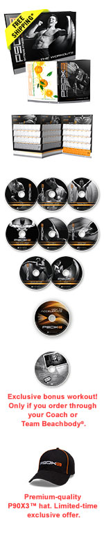 P90X3 DVD Package