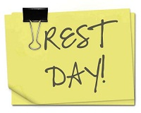 Take an active rest day