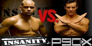 P90x vs. insanity