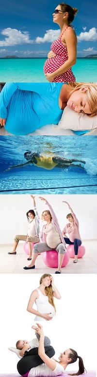 How exercise helps in pregnancy