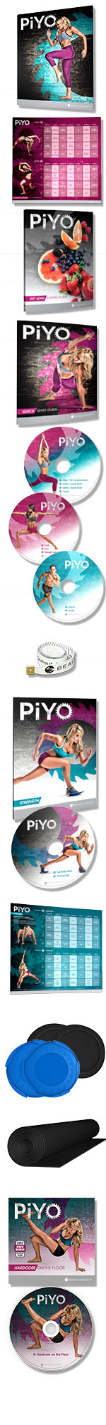 PiYo Deluxe DVD Package