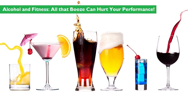 Alcohol can hurt your performance