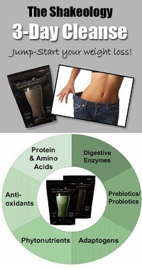 shakeology 3 day cleanse results