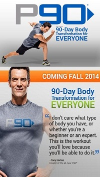 Tony Horton's P90 workout for everyone