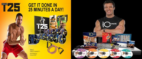 Beachbody August Promotion on Focus T25 and 10-Minute Trainer Challenge Packs