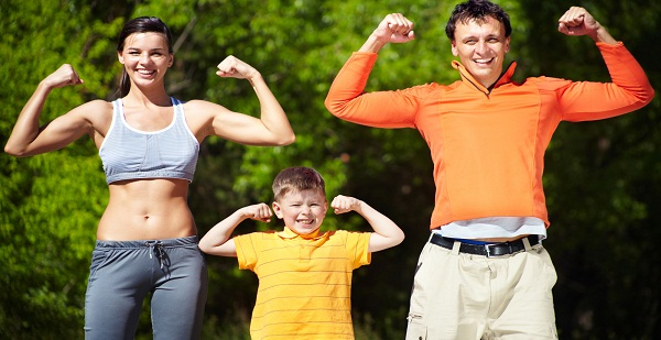 Family Fun Exercises that Promote Physical Activity!