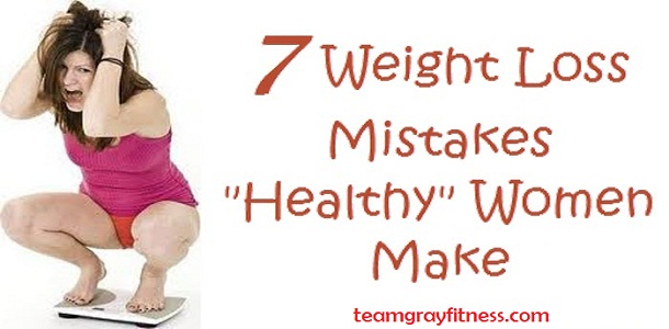 Same Seven Weight Loss Mistakes that All Women Make