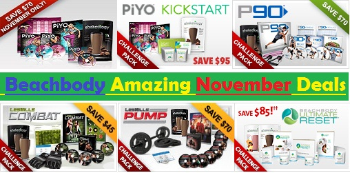 Beachbody November Deals